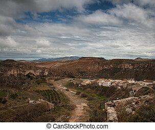almeria, paysage