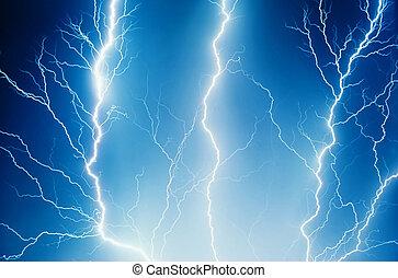 Computer generated lightning