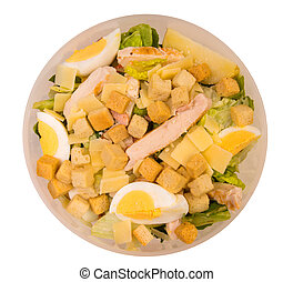 almoço, salada