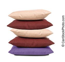 almohadas, aislado