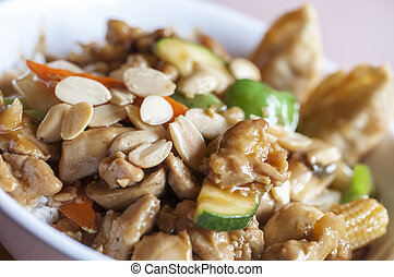 how to make chinese almond guy ding