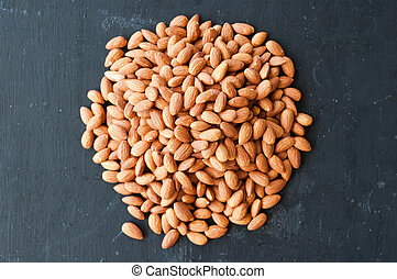 almond nuts on the table