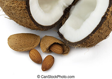 Almond with cocos