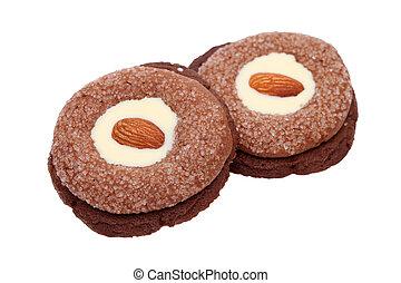 Almonds cookies