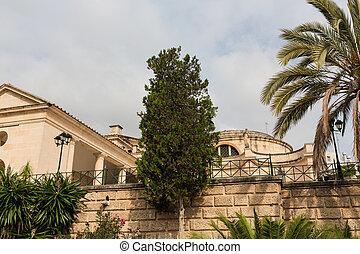 Almudaina  of Palma de Mallorca in Majorca Balearic island