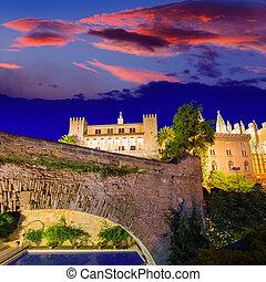 Almudaina Palace in Palma de Mallorca Majorca