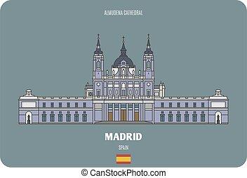 almudena, マドリッド, スペイン, 大聖堂