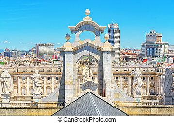 almudena, catedral, (catedral, de, santa maría, la,...