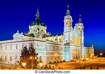 almudena, catedral, de, madrid