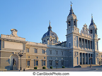 almudena, catedral, madrid, iglesia