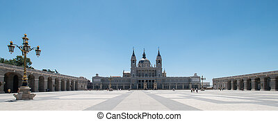 Almudena Cathedral at Madrid