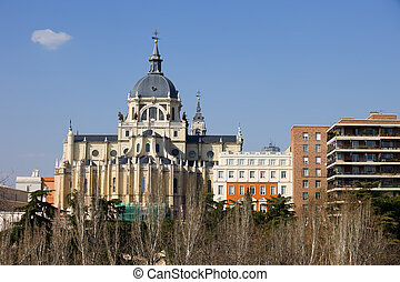 Almudena Cathedral in Madrid