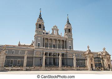 Almudena Cathedral Madrid, Spain