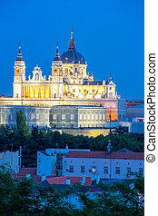 Almudena Cathedral Madrid Spain - Madrid, Almudena Cathedral...