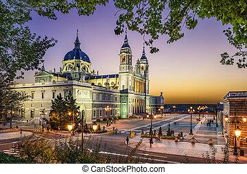 Almudena Cathedral of Madrid, Spain - Madrid, Spain at La...