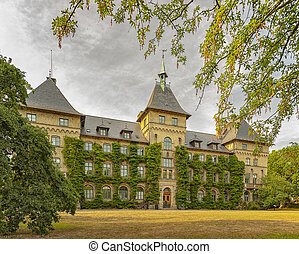 Alnarp Castle Building Rear