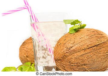 Aloe vera coconut juice