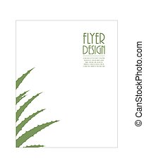Aloe Vera flyer