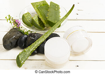 Aloe Vera Herbal cosmetic hygienic