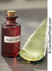 Aloe Vera Juice - Aloe vera is a succulent plant species....