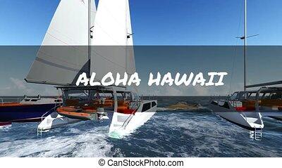 Aloha form Hawaii
