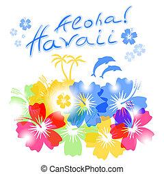 aloha, hawai, plano de fondo
