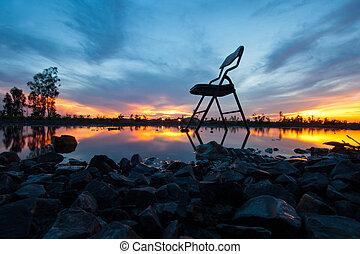 alone chair