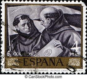 Alonso Cano - St. John Capistrano and St. Bernardin - SPAIN...
