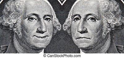 alors, note, dollar, george washington, maintenant