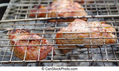 aloyau, bifteck, préparé