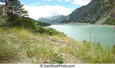 Alpe Gera dam in northern Italy