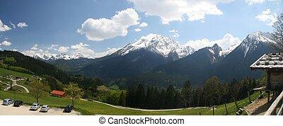 alperne, berchtesgaden