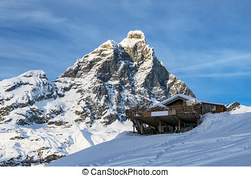Alpes, chalé