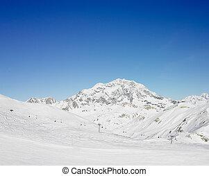 alpes, montañas, savoie, francia