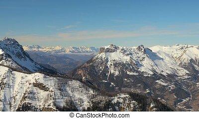 alpes, montagnes