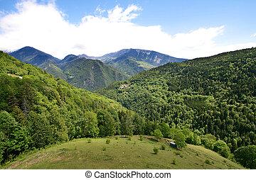alpes, paisaje