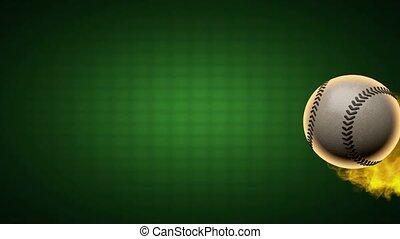 alpha, base-ball, brûlé, ball., emmêlé