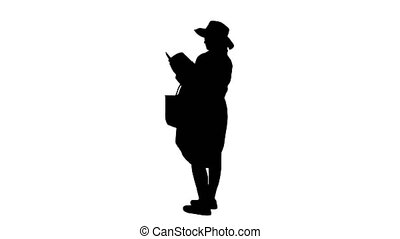 alpha, chapeau, magazine, canal, pregnant, lecture, été, ...