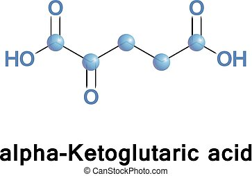 alpha-Ketoglutaric acid is one of two ketone derivatives of...