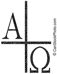 Alpha Omegs Icon Image - The A;phs Omega letters from the...