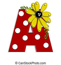 alpha, sonnenblume, rebe, a