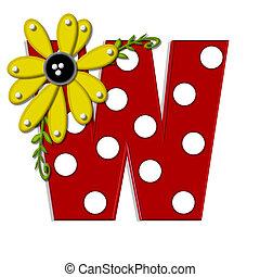 Alpha Sunflower Vine W