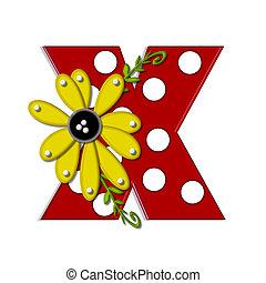 Alpha Sunflower Vine X