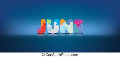 alphabet, écrit, juin, puzzle