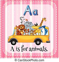 Alphabet A is for animals