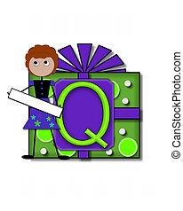 Alphabet All Occasion Q