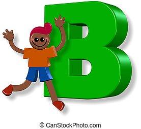 Alphabet B Boy