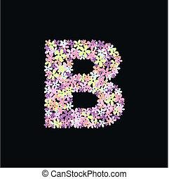 alphabet, b, lettre