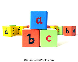 Alphabet block 3