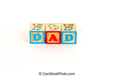 Alphabet Block DAD